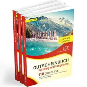 Beim Kauf ab 3 Stück Gutscheinbücher ist der Versand gratis.